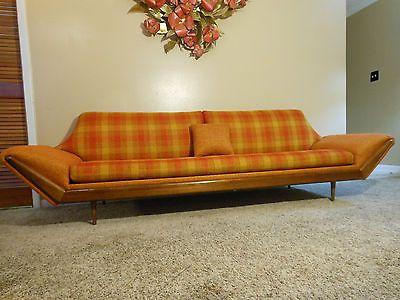 Montgomery Ward MidCentury Danish Modern Sofa Adrian Pearsall