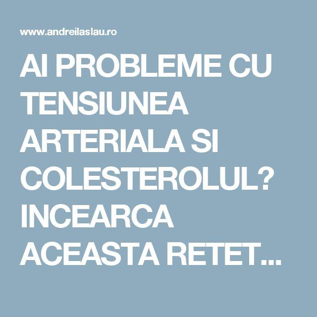 AI PROBLEME CU TENSIUNEA ARTERIALA SI COLESTEROLUL? INCEARCA ACEASTA RETETA TIMP DE 7 ZILE - dr. Andrei Laslău