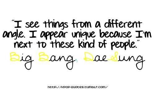 Big bang celebrity crushes quotes