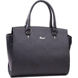 Damska torebka czarna - shopper