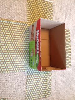 DIY Fabric Covered Boxes - thrifty! No more buying fancy boxes  (This actually has the instructions)
