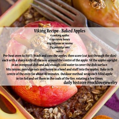 Photo: Healthy Viking Age breakfast or dessert.