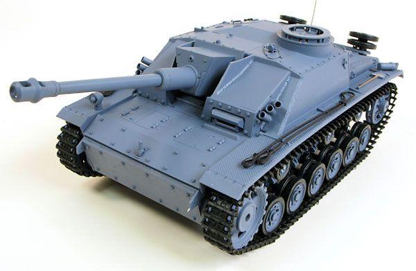 """Радиоуправляемая модель немецкой САУ Второй Мировой войны Sturmgeschütz III"""" Ausf.  http://hobbystart.ru/item.php?id=49874"""