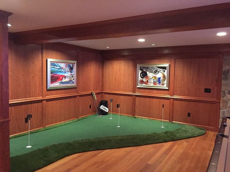Custom Golf Room