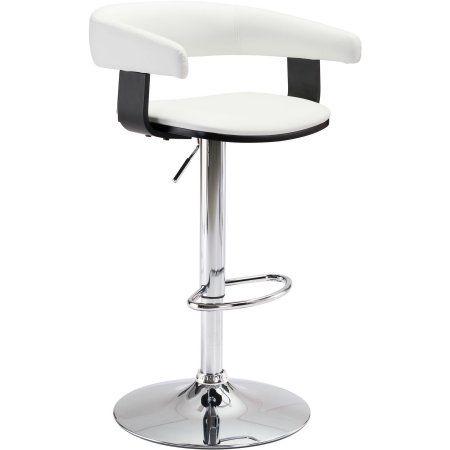 Fuel Bar Chair Multiple Colors, White
