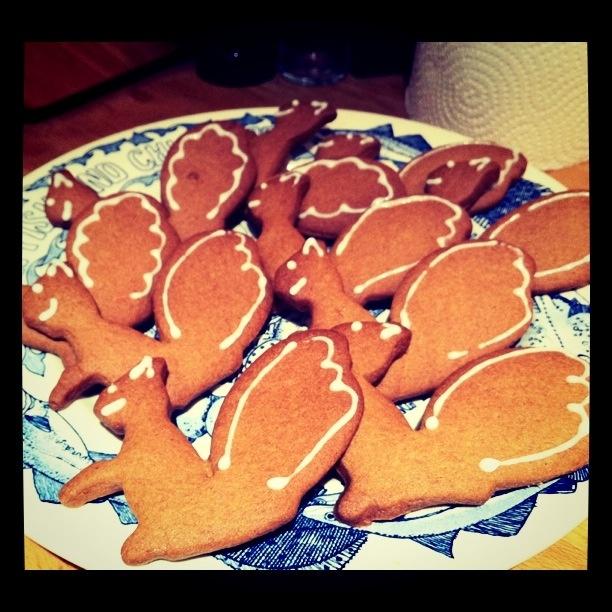 Gingerbread Squirrels