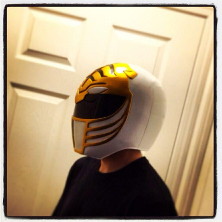 My White Ranger Helmet