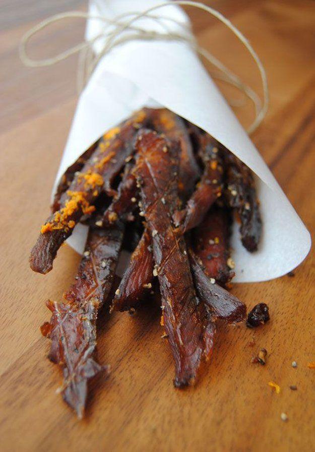 How To Make Homemade Jerky | Salmon Jerky by Homemade Recipes at http://homemaderecipes.com/bbq-grill/15-homemade-jerky-recipes
