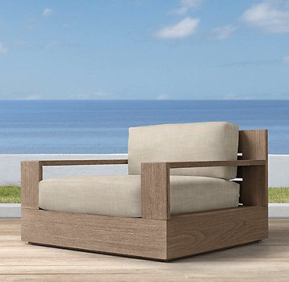 Marbella Collection Weathered Grey Teak Outdoor
