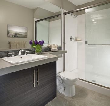 ensuite modern bathroom