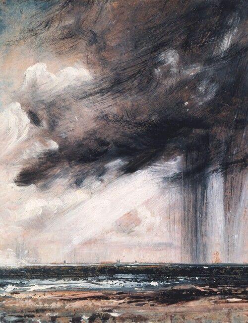 John Constable-Abstract Art landscape