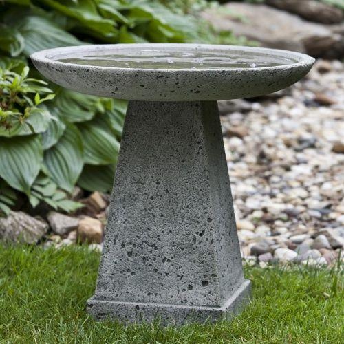 Campania International Halifax Cast Stone Bird Bath - Bird Baths at Hayneedle