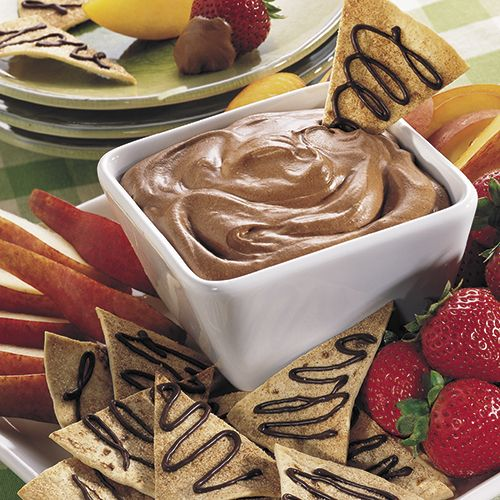 Cool & Creamy Chocolate Fondue - Recipes | The Pampered Chef