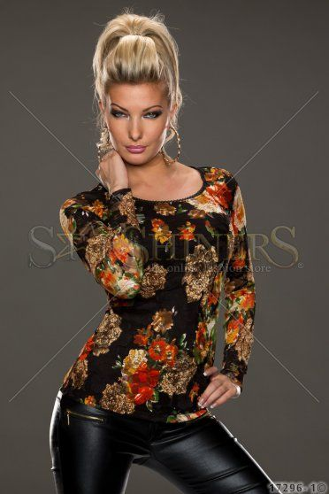 Bluza Eternal Flower Black