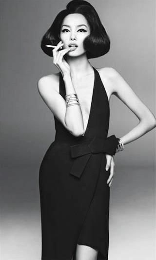 Vogue Italia January 2013 | Fei Fei Sun | Steven Meisel