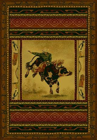 Bull Riding Home Decor