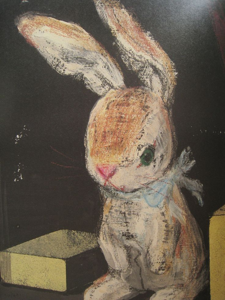 The Velveteen Rabbit - Art by Komako Sakai. (Source: Translated from the Japanese magazine Pooka + edition Komako Sakai)