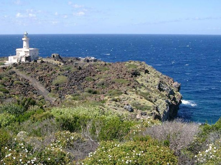 Pantelleria, Sicily. The lighthouse is where we got engaged!