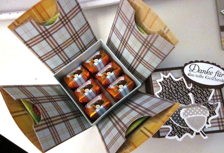 stampin up - explosion box - wonderfall - herbstzauber - das schönste geschenk - dP für kühle tage
