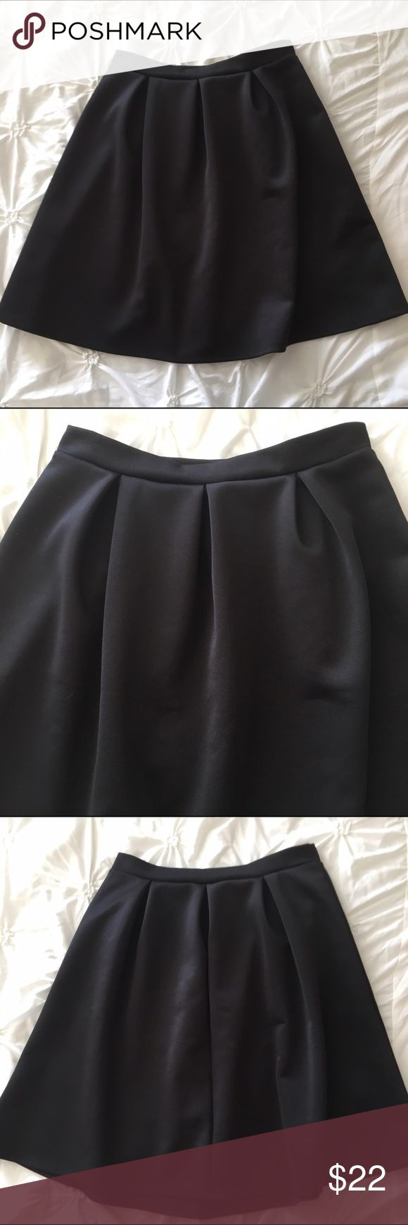 Super Cute Black Skirt Size 10 • Stretchy material • Only worn once ABN Skirts A-Line or Full