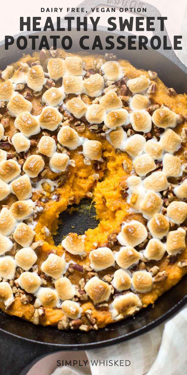 Healthy Sweet Potato Casserole Recipe Sweet Potato Casserole