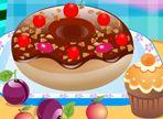 Solo per oggi, puoi preparare una merenda dolcissima! Scegli la ciambella e unisci gli ingredienti che preferisci. Ma in più, puoi aggiungere un dolcetto e una bevanda!