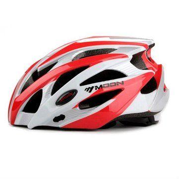 Moon Bicycle Helmet Cycling Unibody Casing Ultralight Road Bike MTB - US$28.66