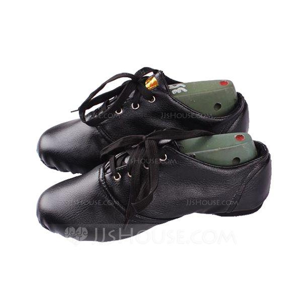 Women's Kids' Jazz Flats Leatherette Dance Shoes
