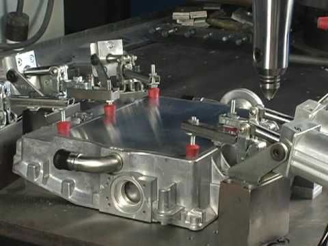 Narrated Friction Stir Welding Demonstration - Manufacturing Technology, Inc. - YouTube