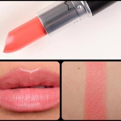 MAC: CORAL BLISS Lipstick. beautiful!: