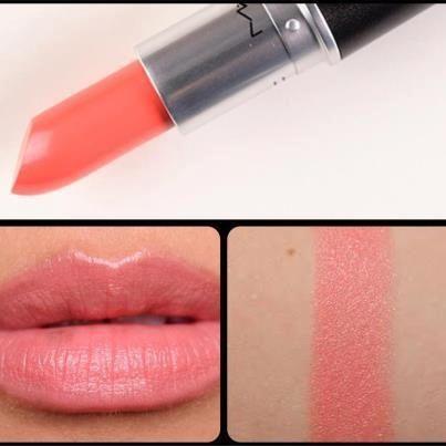 MAC: CORAL BLISS Lipstick. beautiful!: