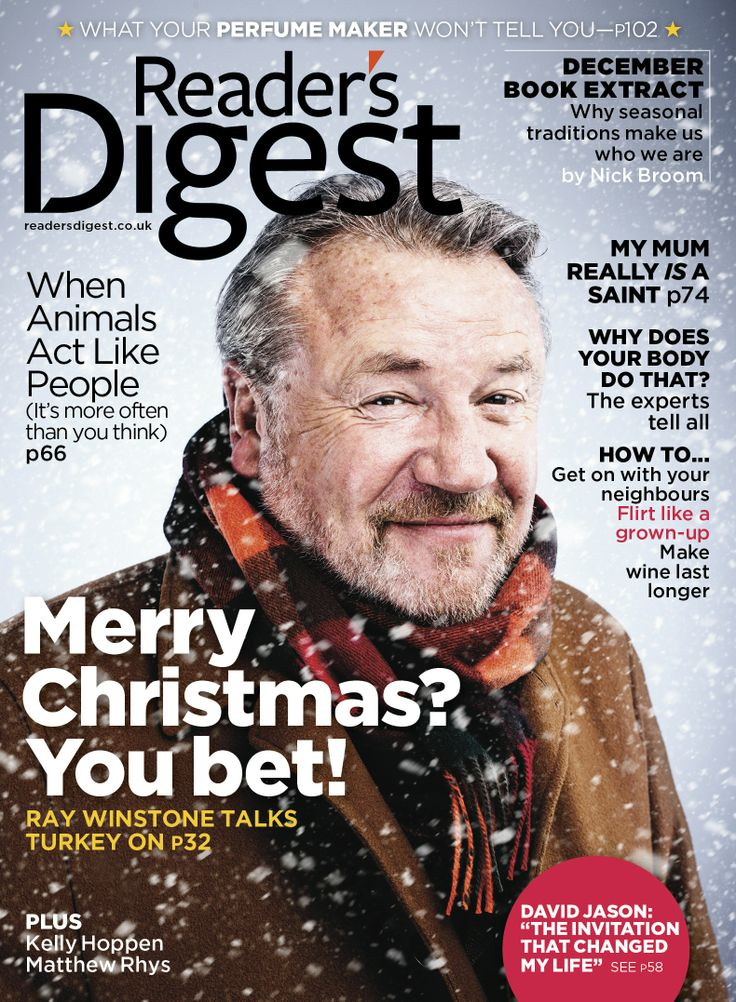 Ray Winstone, December 2013 cover star.