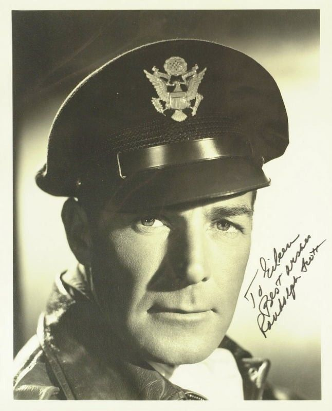 Randolph Scott was in the Army during WW1