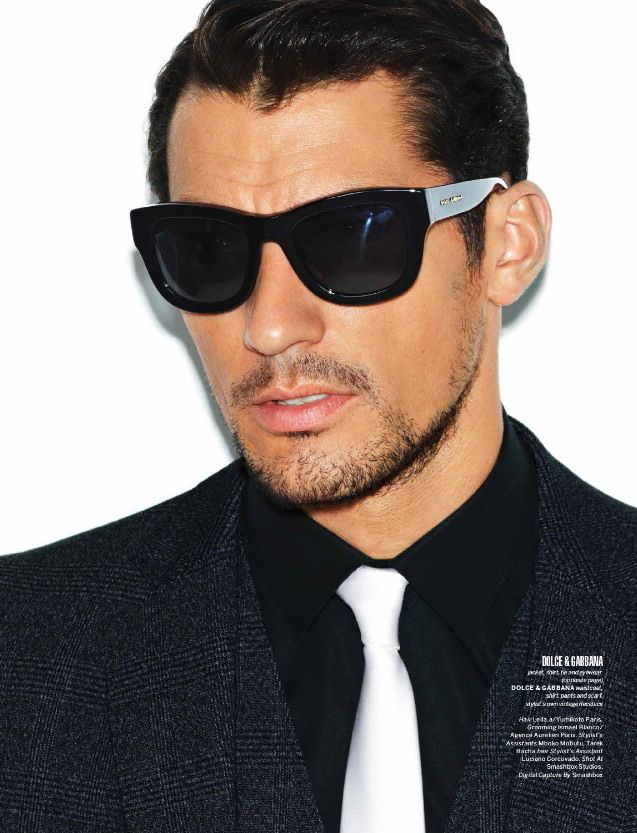 David Gandy is the Ultimate Dolce  Gabbana Icon for 7 Hollywood Magazine Cover Story