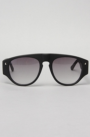 I love these.    The Hesse Sunglasses in Black Matte : Karmaloop.com - Global Concrete Culture - StyleSays