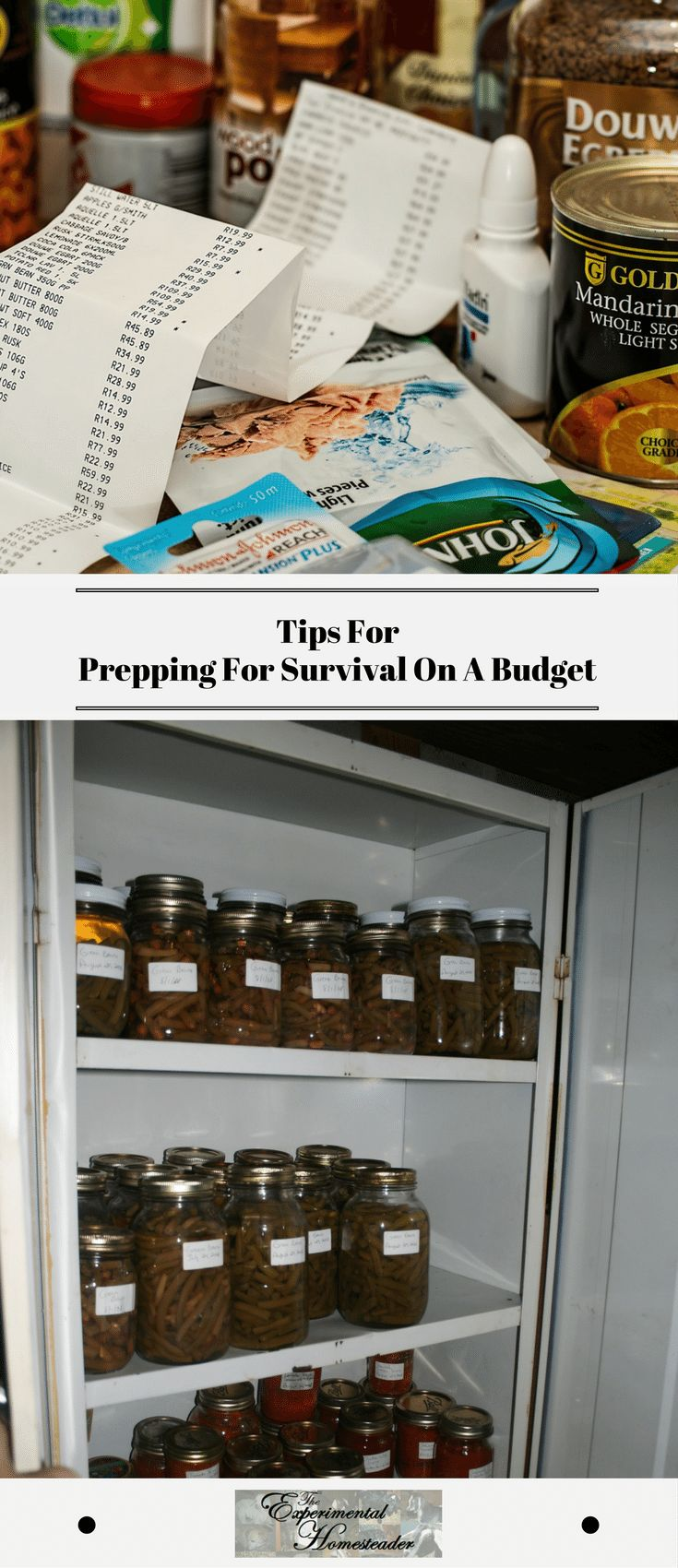 Tips For Prepping For Survival On A Budget Prepping for survival on a tight budget is possible. The first step is to prepare your emergency readiness plan so you know what supplies you need. #preppingforsurvival #emergencypreparedness #emergencyreadinessplan