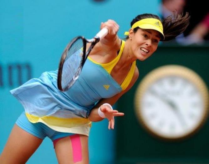 WTA Madrid - Ana Ivanovic surprises sixth ranked Angelique Kerber to reach semis