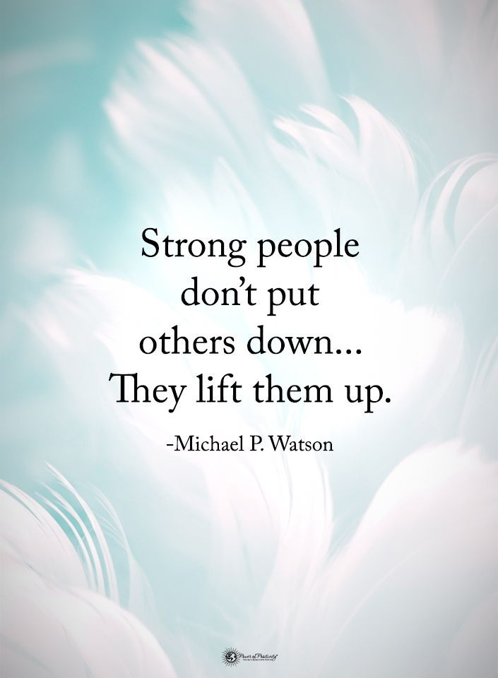 Essence of being strong