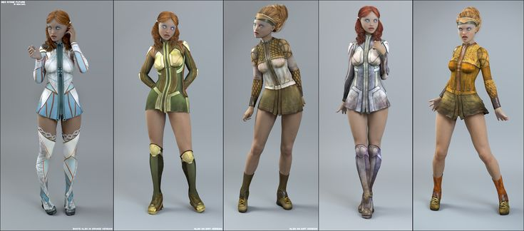 Neo Ayane Future | 3D Models and 3D Software by Daz 3D