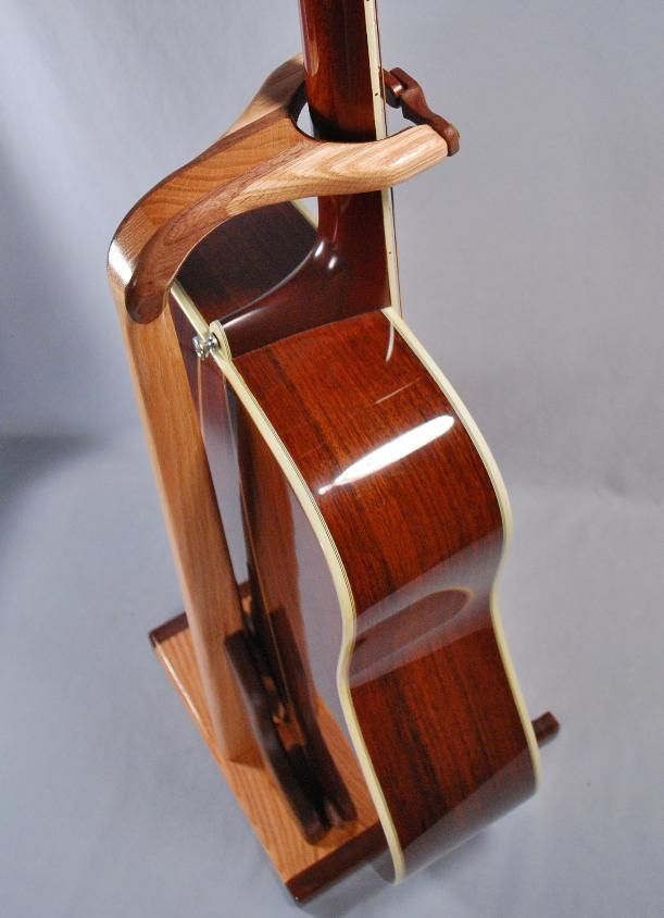 Handcrafted Wooden Guitar Stands ~ Handcrafted unique wooden guitar stands by south mountain