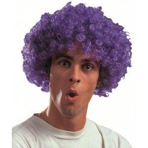 Perruque de déguisement lilas (violette) courte pour homme ou femme