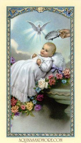 Prayer for a Newborn Prayer Card