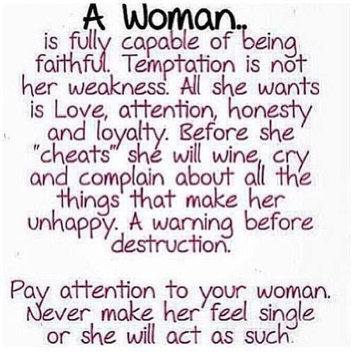 Should How Man Treat Woman A A