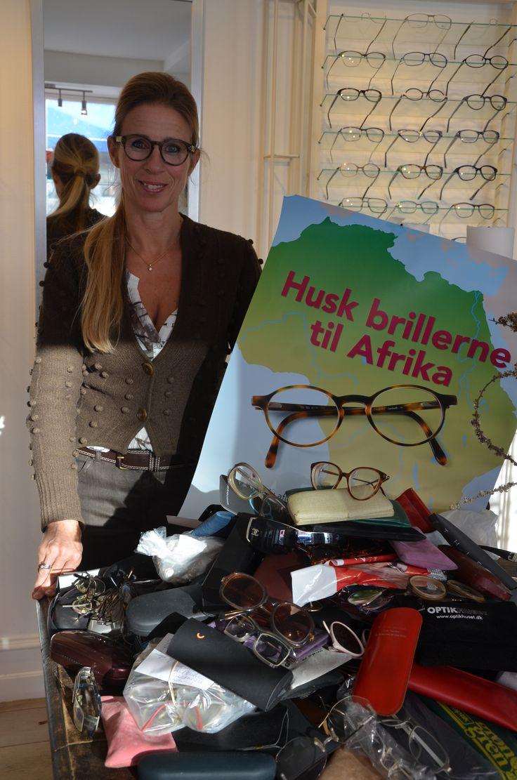 Fredensborg Briller - Husk brillerne til Afrika