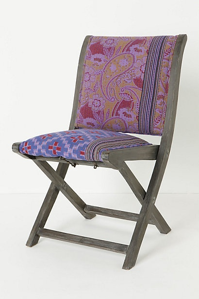 Sold For 200 On Anthropologie Old Fold Up Wooden Chair