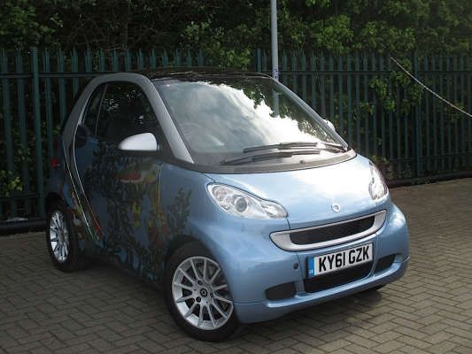 Used 2011 61 Reg Silver Smart Fortwo Coupe Passion Mhd 2dr