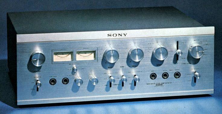 SONY TA-2000 (1968)  Like Vintage Audio Love ❤ On Facebook & Instagram