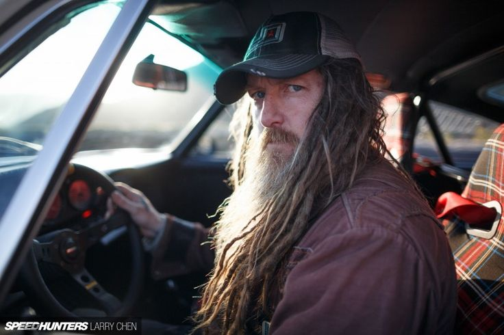 Magnus Walker. White guy with dreads, obsessive about the Porsche 911, his builds are beautiful yet utilitarian yet detail oriented (check out the period-correct plaid on this one, a 911 SC). Spirit animal for sure.