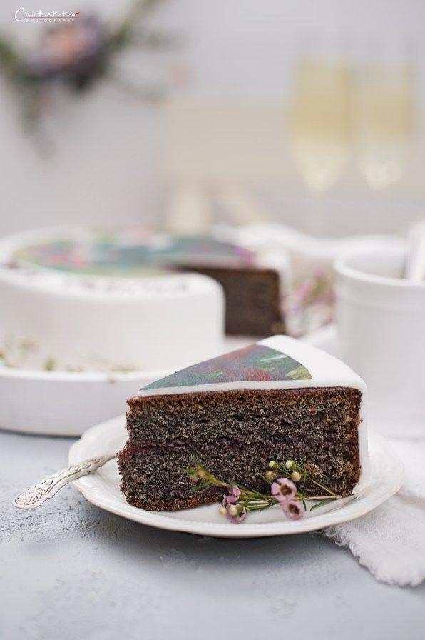 Valentinstag Torte Mit Fotoprint Fur Den Valentinstag