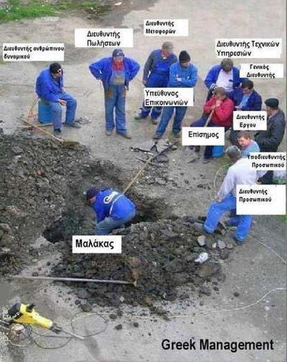 Greek management